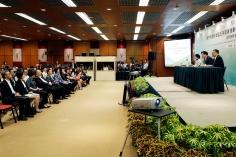 行政長官崔世安出席《澳門特別行政區五年發展規劃(2016-2020年)草案文本》第二場居民意見收集會2