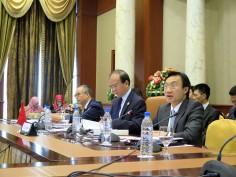 譚俊榮在大會上發言2