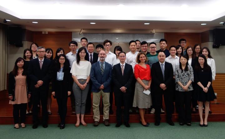 《第二屆中葡文翻譯及傳譯學習計劃》學員赴外地接受培訓