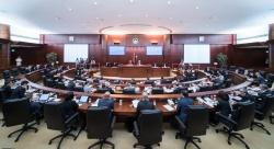 行政長官崔世安列席立法會全體會議