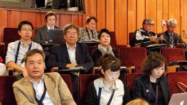 文化局人員在國家文物局宋新潮副局長的帶領下參與會議工作