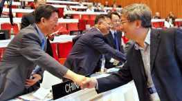 文化局梁曉鳴局長於中國申遺成功一刻送上祝賀