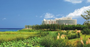 Fairmont YC Lake 酒店外观