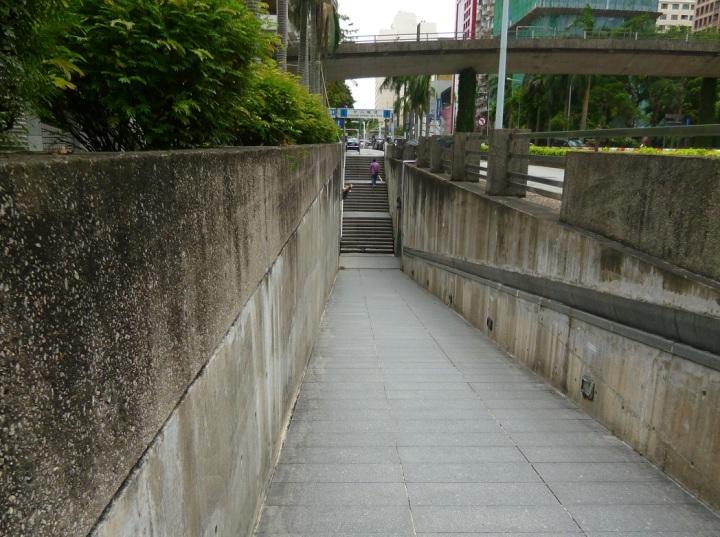 各區大部分行人隧道已基本恢復通行