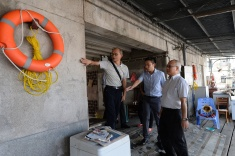 國家減災委員會專家團隊在澳門作實地視察 2