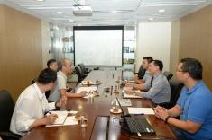 國家減災委員會專家團隊在澳門期間分組與對口部門交流