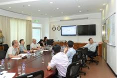 國家減災委員會專家團隊在澳門期間分組與對口部門交流2
