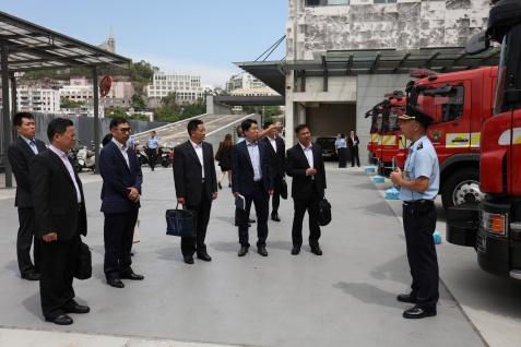 國家減災委員會專家團隊在澳門期間分組與對口部門交流3
