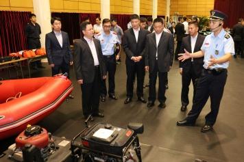 國家減災委員會專家團隊在澳門期間分組與對口部門交流4