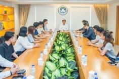 譚俊榮與學生團體代表座談