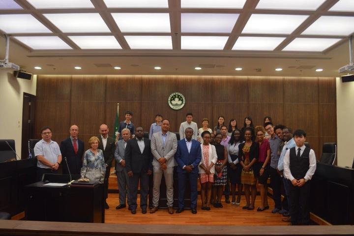 佛得角資料保護國家委員會代表團與澳大法學院學生交流
