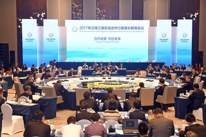 行政長官崔世安在湖南省長沙市出席2017年泛珠三角區域合作行政首長聯席會議