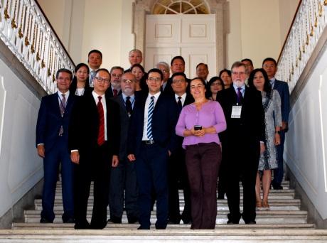 訪問團與葡萄牙科學技術及高等教育部部長合照