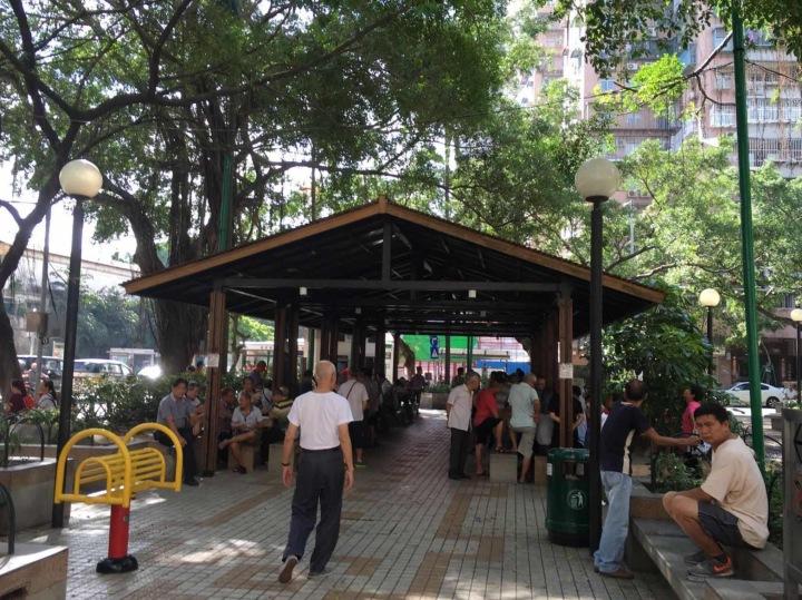 黑沙環三角花園禁止吸煙