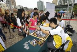 攤位遊戲受市民歡迎