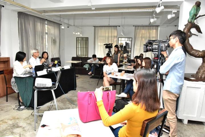 文化產業基金於10月26日舉行傳媒茶話會