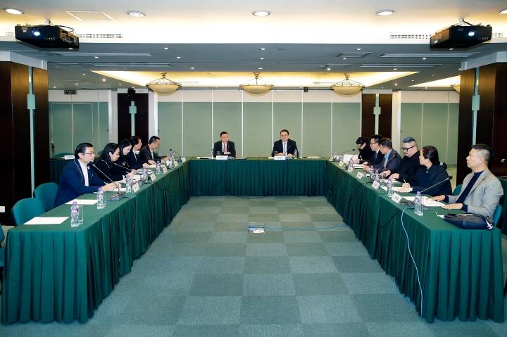會展業發展委員會舉行2017年第二次平常全體會議