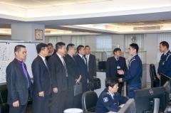 治安警察局人員為與會者介紹反偷渡聯防機制運作情況