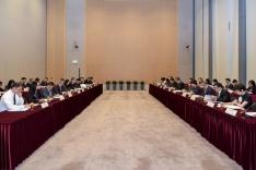第十次港澳合作高層會議在香港政府總部舉行