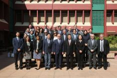 葡萄牙理工學院協調委員會代表團與澳門理工學院理事會和各高等學校代表合照