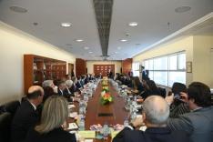 葡萄牙理工學院協調委員會代表團與澳門理工學院進行工作會議