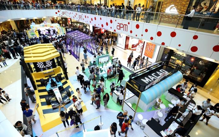 香港市民踴躍參與「感受澳門無限式嘉年華」路展