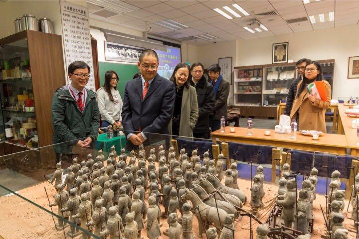 歷史文化工作委員會參觀培正中學中華文化館
