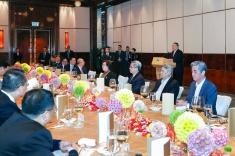 行政長官崔世安宴請本地中文傳媒負責人