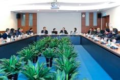 行政長官崔世安與北區社諮會交流意見