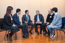 譚俊榮指示衛生局做好應對和調度