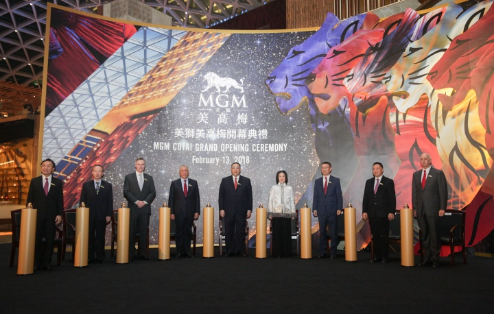MGM COTAI Grand Opening Ceremony