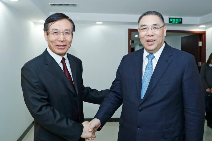 行政長官崔世安與國家食品藥品監管總局局長畢井泉會面