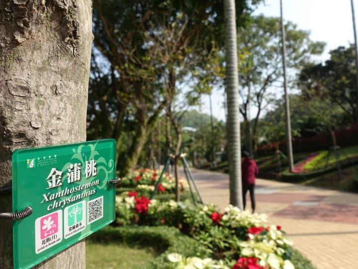 186 新式樣樹木介紹牌設有二維碼