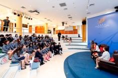 同學踴躍提問及分享想法
