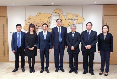 國家衛生健康委員會馬曉偉主任歡迎譚俊榮司長率衛生局代表團到訪