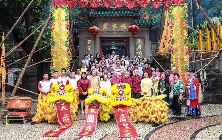 媽閣廟值理會舉行賀誕祈福活動