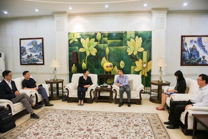 澳門特區代表團拜訪中華人民共和國駐菲律賓共和國大使館