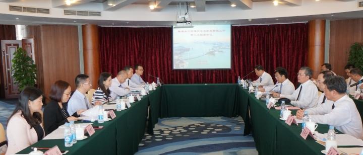 粵澳舉行水上交通安全及航道管理第三次聯席會議