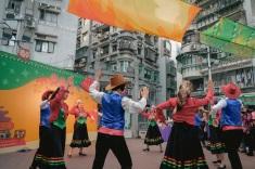 葡語國家特色歌舞表演,與民同樂