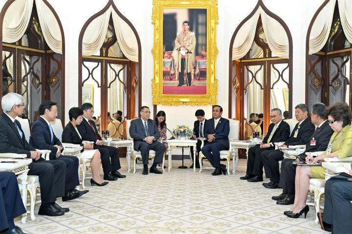 行政長官崔世安在曼谷與泰國總理巴育(Prayuth Chan-ocha)會面2