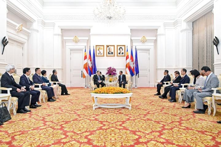 行政長官崔世安與柬埔寨首相洪森(Hun Sen)會面2