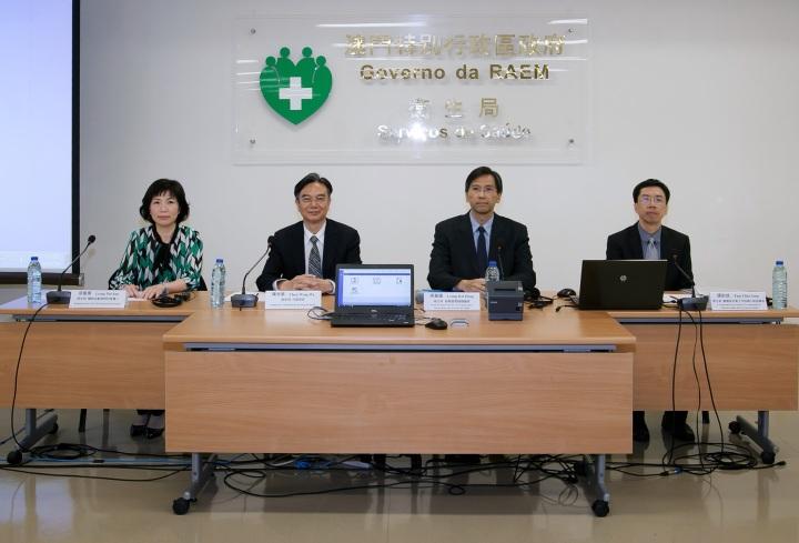 衛生局代表向傳媒介紹二零一八年度醫療補貼計劃