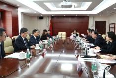 譚俊榮司長及衛生局代表團與國家衛生健康委員會馬曉偉主任等交流