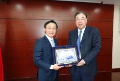譚俊榮司長與國家衛生健康委員會馬曉偉主任