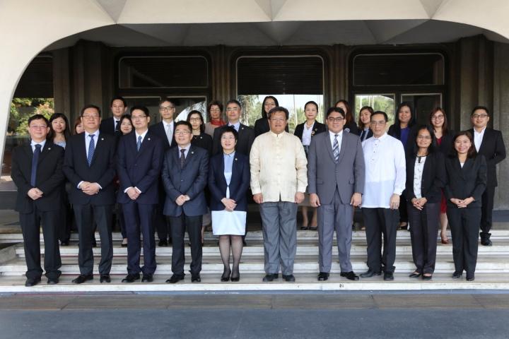 陳海帆司長率領代表團與菲律賓司法部商討有關刑事司法合作的事宜