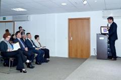 正在巴西訪問的經濟財政司司長梁維特與巴西出口促進局APEX座談交流