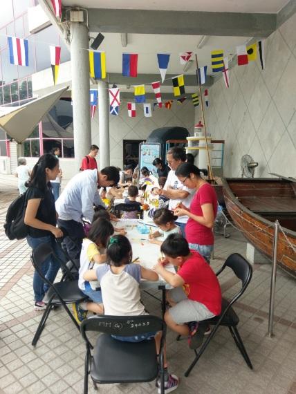 海事博物館工作坊讓兒童動手創作