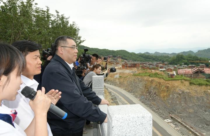 行政長官五月到訪貴州考察當地扶貧情況2