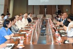 行政長官崔世安在深圳參觀考察中國平安集團並出席座談
