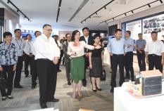 行政長官崔世安在珠海橫琴考察粵澳合作中醫藥科技產業園2